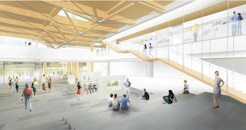 A New Design Building With Extraordinary New Building Technology College Of Natural Sciences