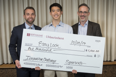 Photo of Easy Lock, Innovation Challenge winners