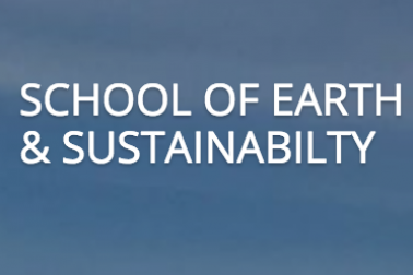 image of School of Earth and Sustainability wordmark