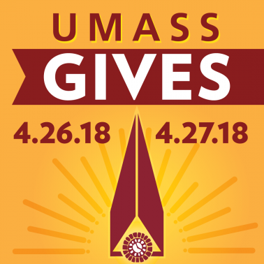 UMass Gives April 26 and 27 2018