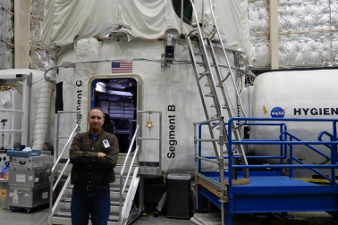 Will Daniels at NASA HERA