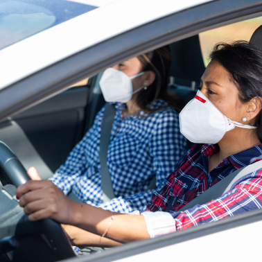How to stay as safe as possible in a ride-share during the pandemic