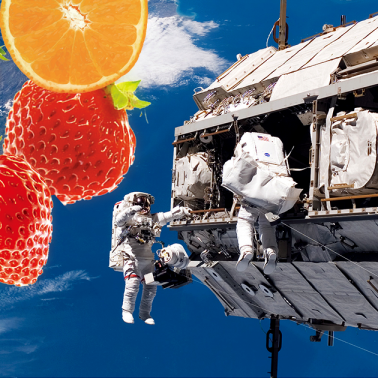 Keeping food nutritious — in space