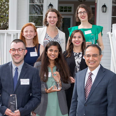 Rising Researchers Spring 2019 with Chancellor Kumble Subbaswamy