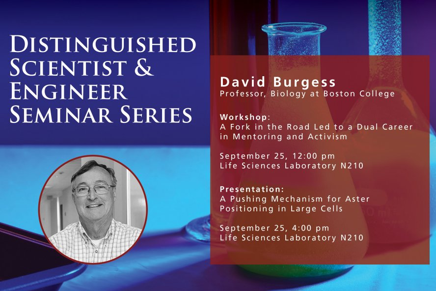 Event Information for the Distinguished Scientist & Engineer Seminar Series
