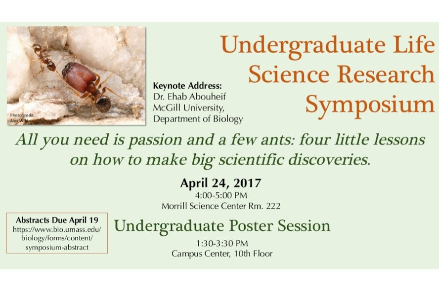 Life Sciences Undergrad Research Symposium