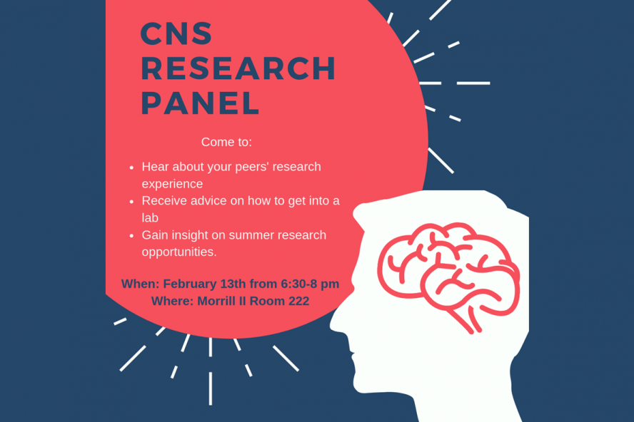 Announcement Research Panel for Undergraduate Students February 13, 2019
