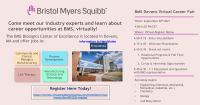 Bristol Myers Squibb Information Session for Internships, Co-ops & Full Time Roles - Sept 28