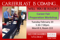 Career Fair Preparation Workshop
