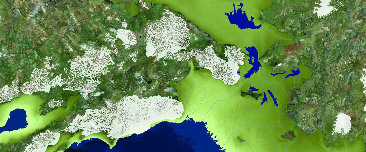 Geoscientists' map 'opens your imagination' to what bygone landscape