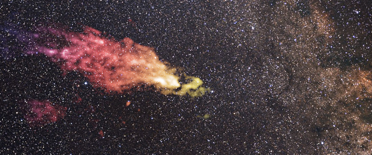 Field Notes: Star formation, magnetic fields, and the mysteries of a cloud