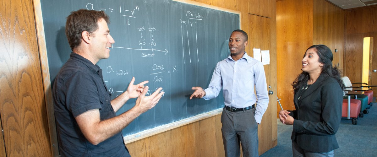 CNS faculty including mathematician Mike Sullivan are committed to mentoring students in and out of the classroom.