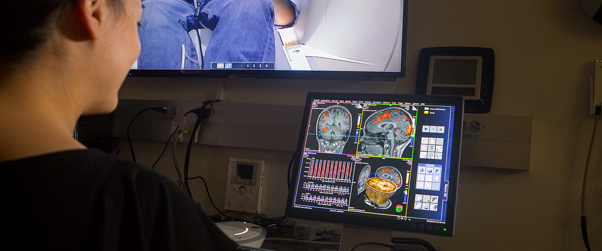 Human MRI lab in action