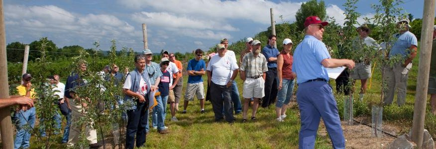 UMass Extension workshop at Cold Spring Orchard