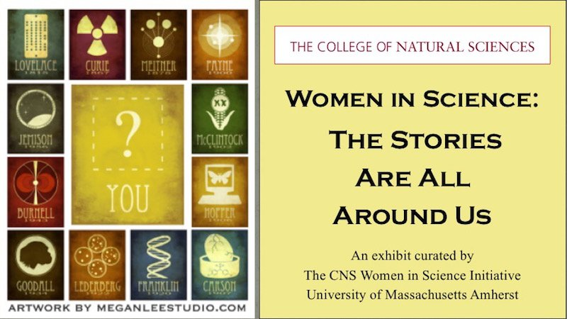 Women in Science Exhibit announcement
