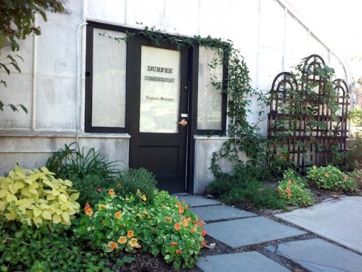 Picture of Durfee Conservatory entrance